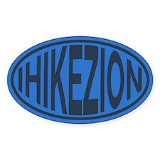 I Hike Zion - Blue