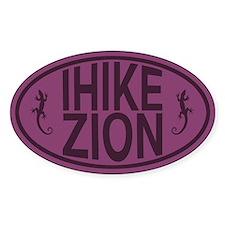 I Hike Zion Lizard - Purple