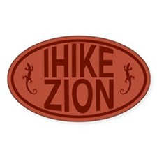 I Hike Zion Lizard - Red