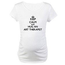 Keep Calm and Hug an Art Therapist Shirt
