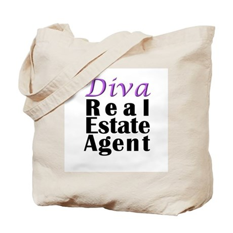 Diva Real estate Agent Tote Bag