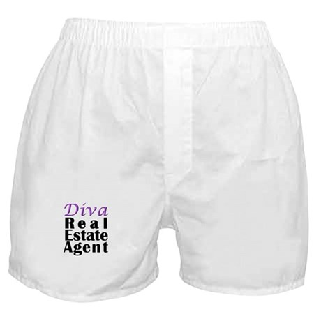 Diva Real estate Agent Boxer Shorts