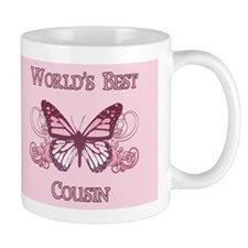 World's Best Cousin (Butterfly) Mug