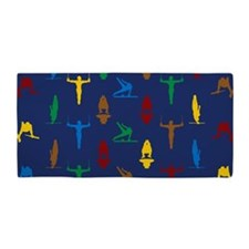 Mens Gymnastics Beach Towel