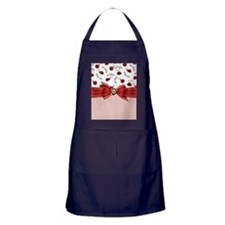 Little Ladybugs Apron (dark)