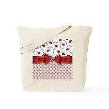 Little Ladybugs Tote Bag