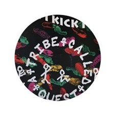 """ATCQ or A TRIBE CALLED QUEST 3.5"""" Button"""