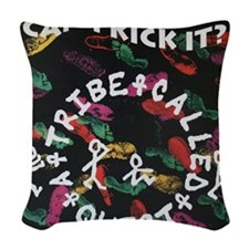 ATCQ or A TRIBE CALLED QUEST Woven Throw Pillow
