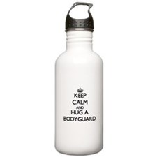 Keep Calm and Hug a Bodyguard Water Bottle
