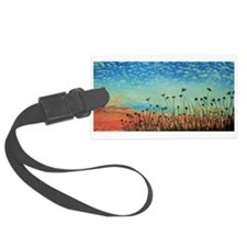 faces up Luggage Tag
