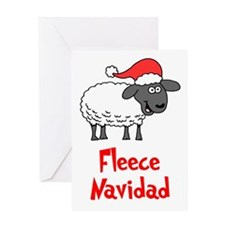 Fleece Navidad Greeting Card