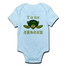 T Is For Turtle Body Suit