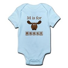M Is For Moose Body Suit