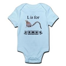 L Is For Lemur Body Suit