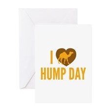 I Love Hump Day Greeting Card
