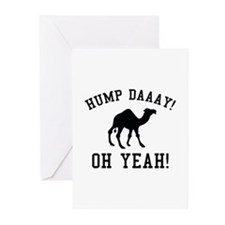 Hump Daaay! Oh Yeah! Greeting Cards (Pk of 20)
