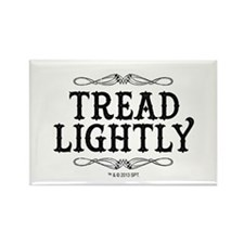 Tread Lightly Rectangle Magnet
