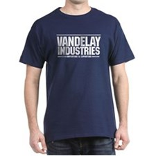 Vandelay Import Export T-Shirt Navy Blue
