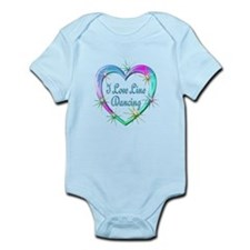 I Love Line Dancing Infant Bodysuit