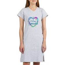 I Love Gymnastics Women's Nightshirt
