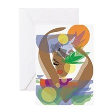 Calypso Intrique Greeting Card