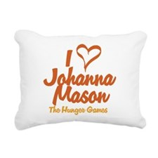 I Heart Johanna Rectangular Canvas Pillow