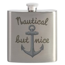 Nautical But Nice Flask