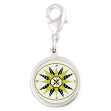 Compass Rose Charms