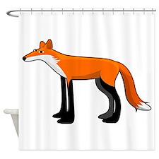 V. Vulpes Shower Curtain
