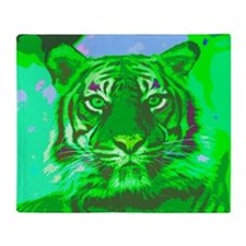 Tiger018 Throw Blanket