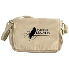 Raven Lunatic - Halloween Messenger Bag