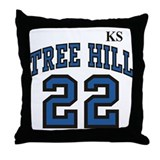 Funny Haley james scott Throw Pillow