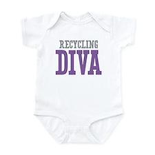 Recycling DIVA Infant Bodysuit