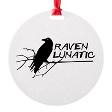 Raven Lunatic - Halloween Ornament