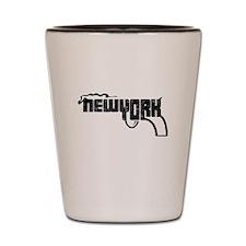 New York Smoking Gun Shot Glass