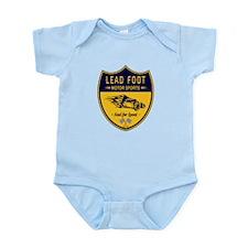 Lead Foot Hot Rod Infant Bodysuit
