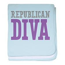 Republican DIVA baby blanket