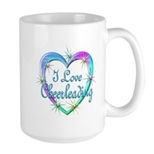 I Love Cheerleading Mug