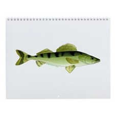 Northern Europe Freshwater Fish Wall Calendar 1