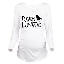 Raven Lunatic - Halloween Long Sleeve Maternity T-