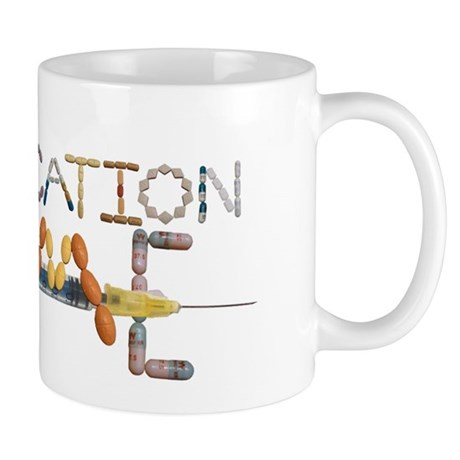 Medication Time Mugs at Straitjacket T-Shirts