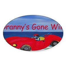Grannys Gone Wild Decal