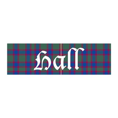 Tartan - Hall 36x11 Wall Decal