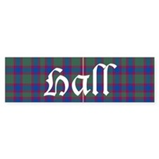 Tartan - Hall Bumper Sticker