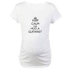 Keep Calm and Hug a Guitarist Shirt