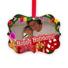 Custom Picture Holidays Ornament