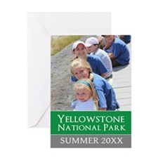 Vacation Souvenir Photo Greeting Cards