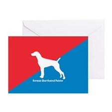 Pointer Diagonal Greeting Cards (Pk of 10)