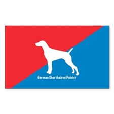 Pointer Diagonal Rectangle Decal