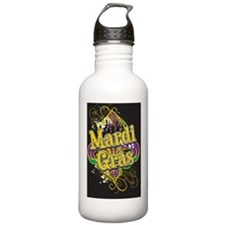 Mardi Gras Design B Water Bottle